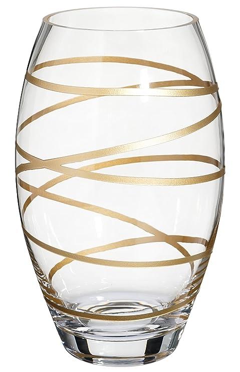 Amazon.com: Jarrón de cristal de barril hecho a mano ...