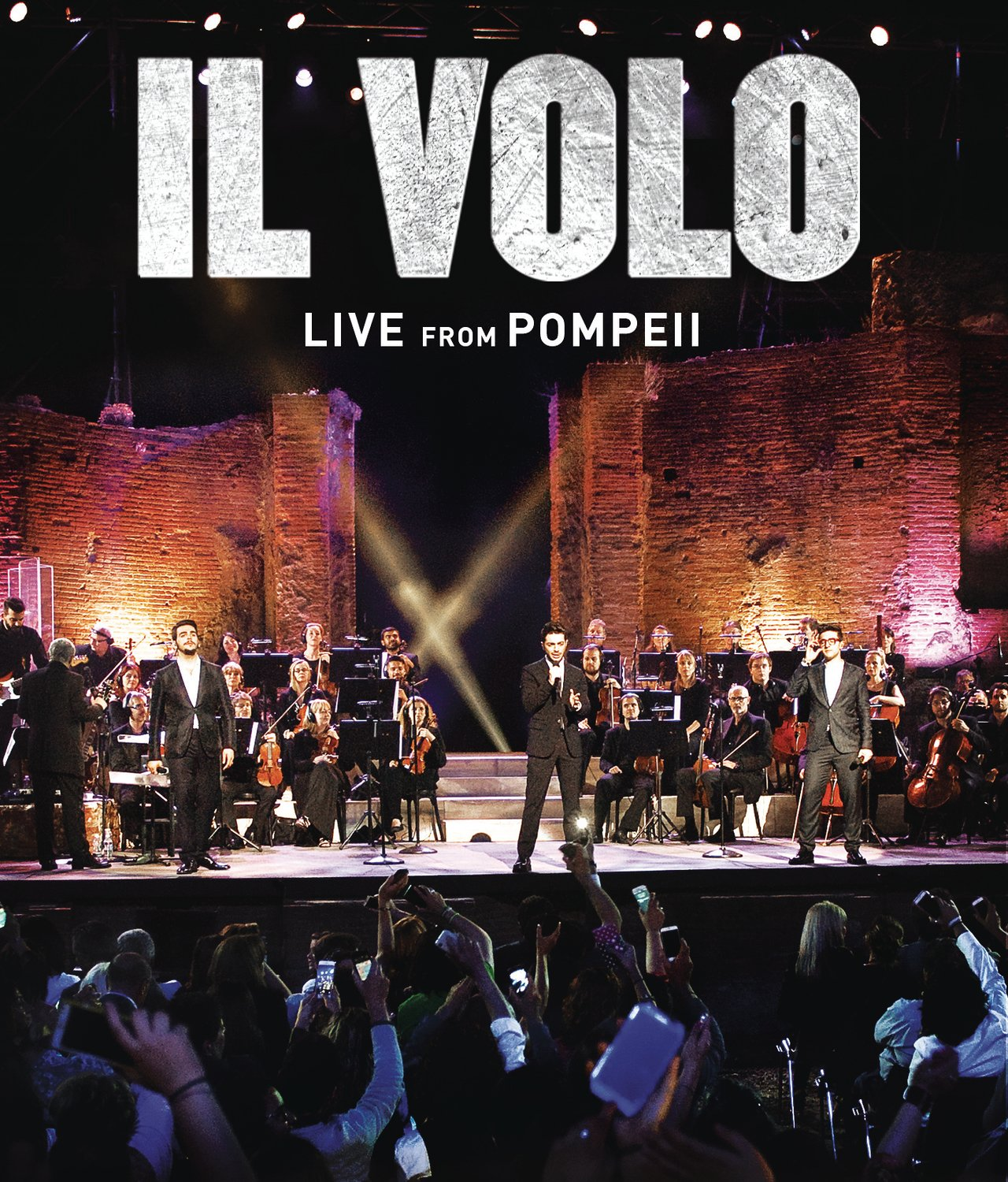 DVD : Il Volo - Live from Pompeii (Remastered)