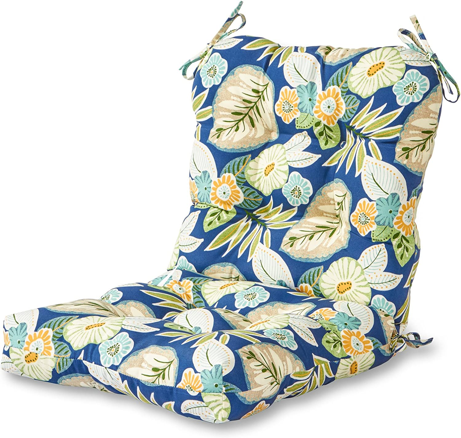 Greendale Home Fashions Outdoor Seat Back Chair Cushion, Marlow