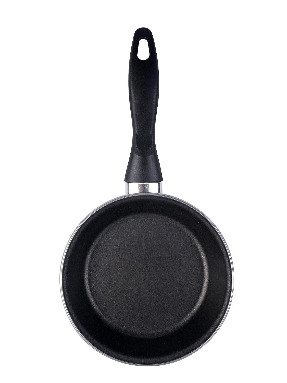 Magefesa Black sartén 26 cm de acero esmaltado , antiadherente bicapa reforzado, color negro exterior. Apta para todo tipo de cocinas, incluida ...