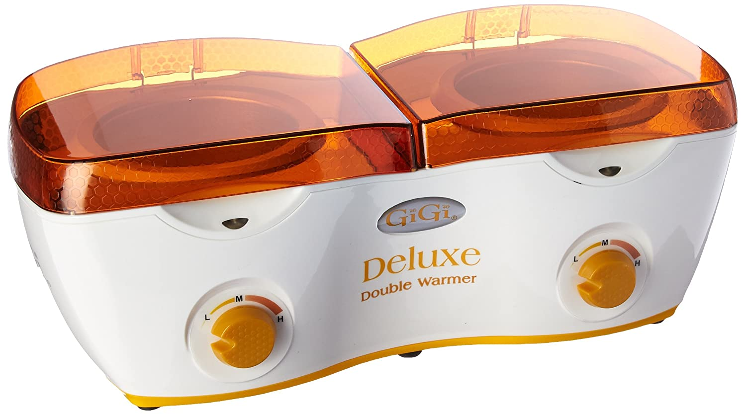 GIGI deluxe double warmer, 14 ounce, White/Orange 0230