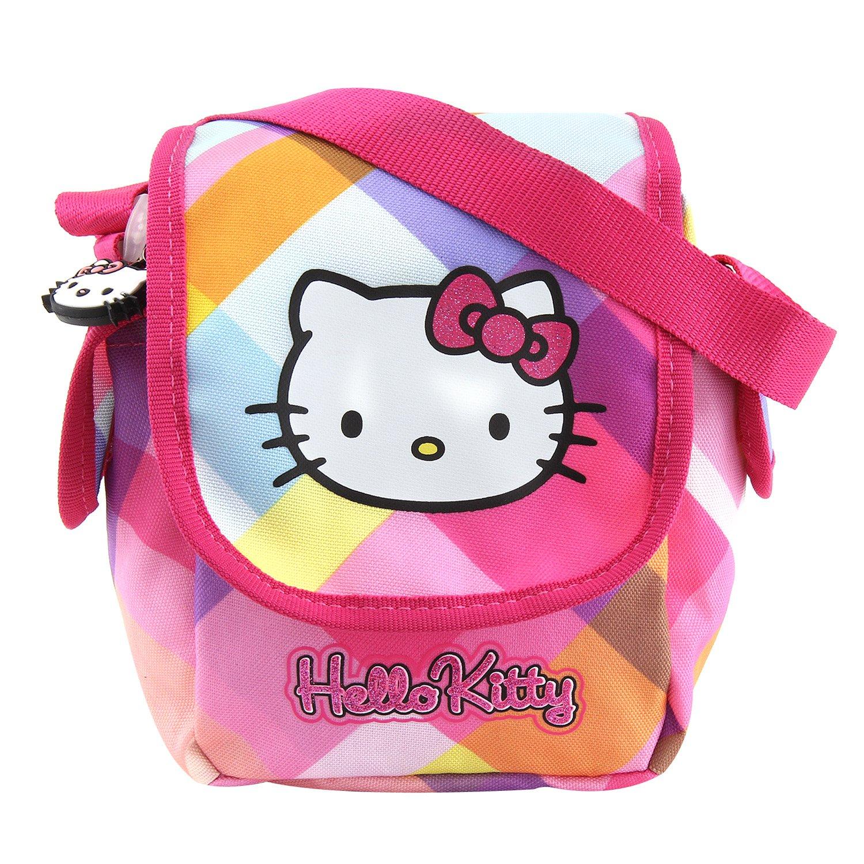 Hello Kitty 00571 Borsa Sportiva per Bambini, Multicolore New Wave