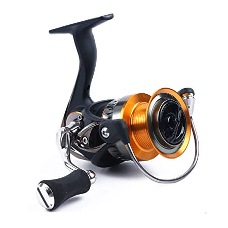WPE Fishing Reel Carbon Body Frame Lightweight 7.9oz with High Drag Strength Spinning Reel for Saltwater or Freshwater Aluminum Spool with Carbon Fiber Drag Left Right Interchangeable 8 1 BB