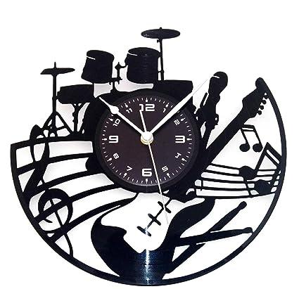 Instant Karma- Reloj de pared fabricado con un disco LP de vinilo de 33&nbsp