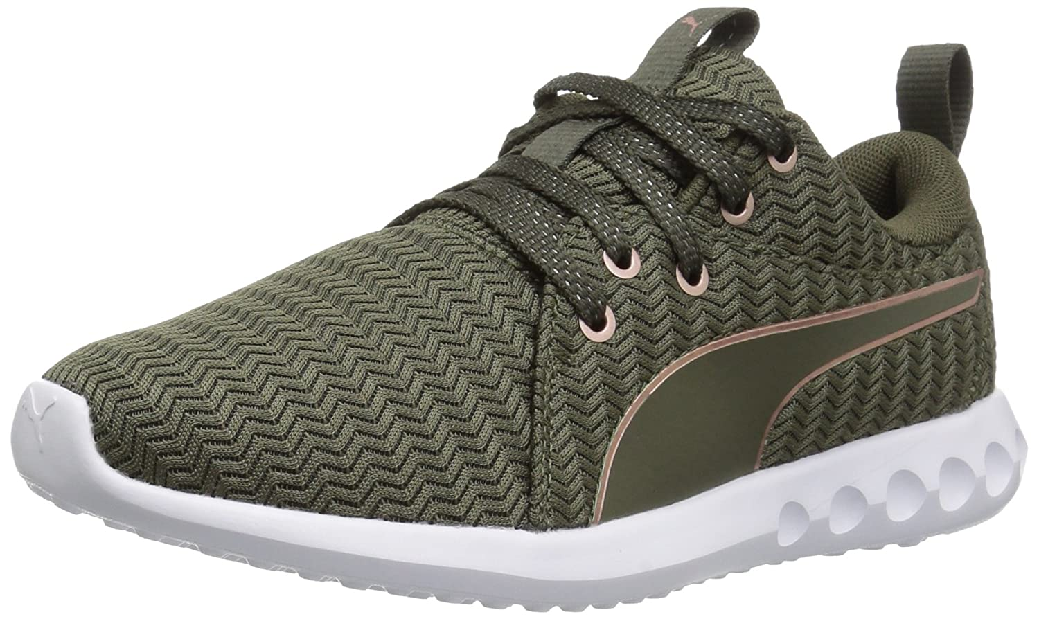 PUMA Women's Carson 2 Wn Sneaker B01MRY0PQL 11 B(M) US|Olive Night-rose Gold