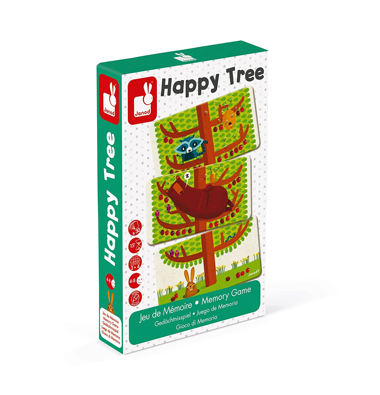 Happy Tree Juratoys US Corp J02761 Janod Memory Game