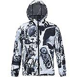 Semen Sweats à Capuche Zippé Sweat-shirt Homme Garçon Manteau Chaud Pull à Capuche Outwear Veste Casual