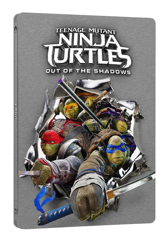 Tartarughe Ninja 2: Fuori dallOmbra Steelbook Blu-Ray ...
