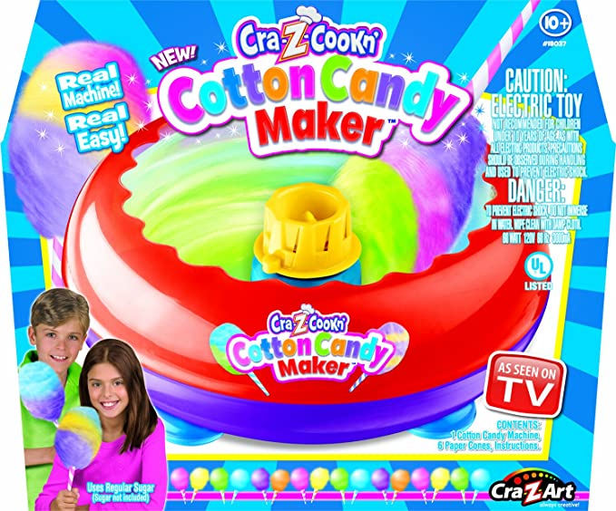 Amazon Cra Z Art Cotton Candy Maker Toys Games