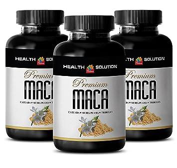 Maca peruana organic - PREMIUM MACA 1300MG - support sexual arousal (3 Bottles)