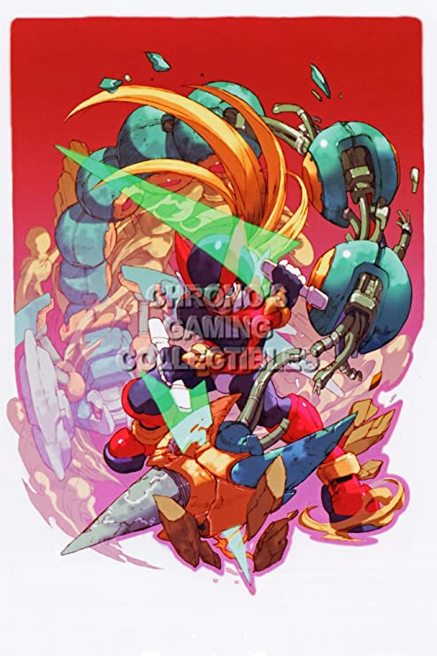 "Mega Man 17/""x26/"" poster print"