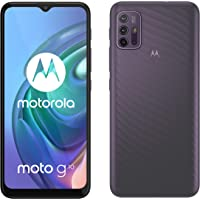 "Motorola Moto g10 (Pantalla de 6.5"" Max Vision HD+, Qualcomm Snapdragon, sistema de 4 cámaras de 48MP, batería de 5000…"
