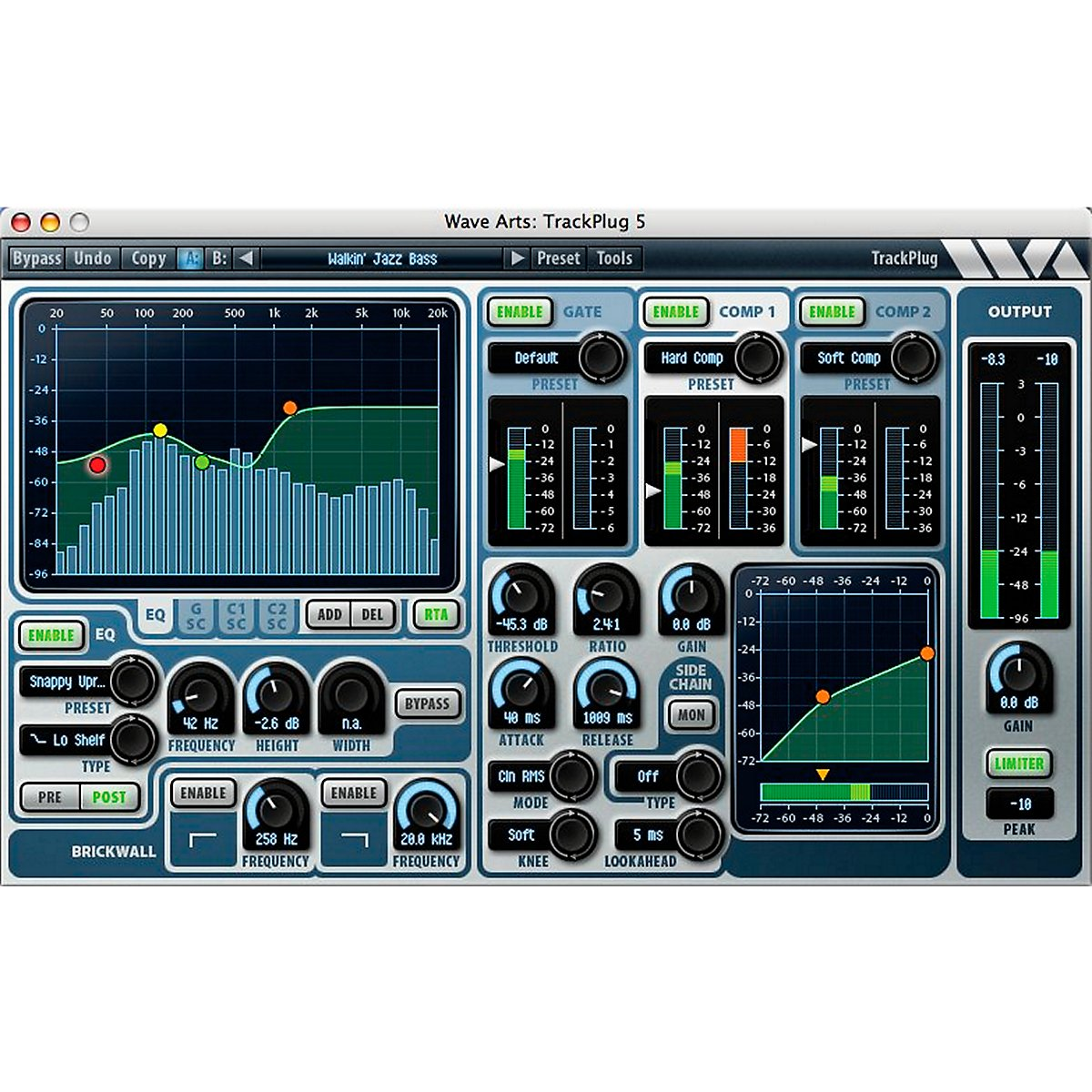 Wave Arts TrackPlug AAX Special Signal Processing Software - Pro Tools 11 Ready