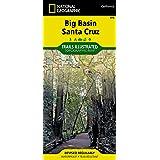 Big Basin, Santa Cruz (National Geographic Trails Illustrated Map)