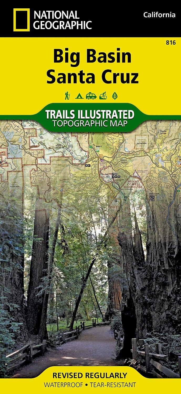 Big Basin, Santa Cruz (National Geographic Trails Illustrated Map ...