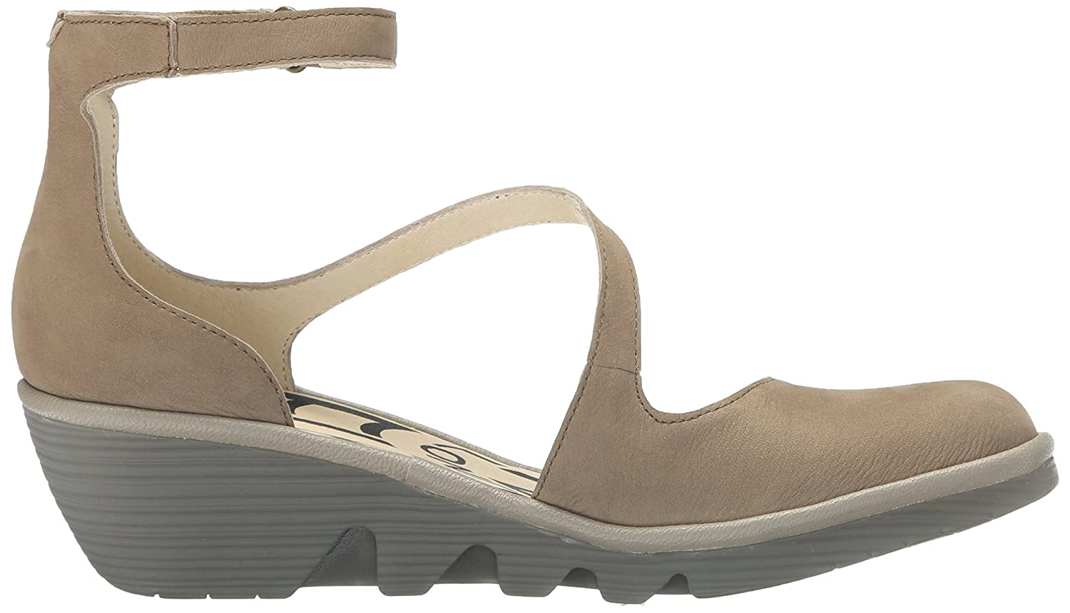 FLY London 40 Women's Plan717fly Flat B01HJAK648 40 London EU/9 - 9.5 M US|Taupe/Mushroom Cupido/Mousse 446a6b