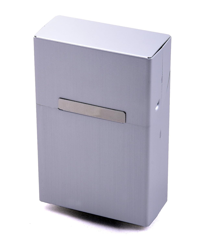 Zigarettenbox Metall Alu Zigarettentui Zigarettenschachtel Box f/ür Zigaretten rot mehrere Farben w/ählbar