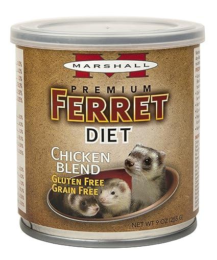 Marshall PET PROD-Food FD-430 New Premium Ferret Diet Topper - Chicken Blend