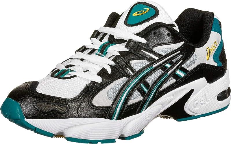 Asics Gel-Kayano 5 OG, Zapatillas de Running Unisexo, Negro/Blanco, 45 EU: Amazon.es: Zapatos y complementos
