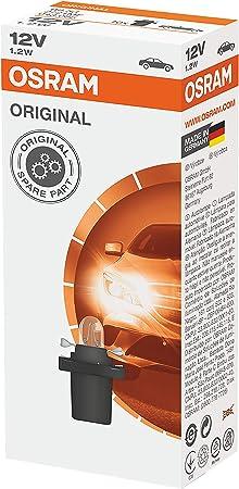 Osram Original Sockel Sonderlampe B8 5d 2721mf 12v 1 2w 10er Faltschachtel Auto