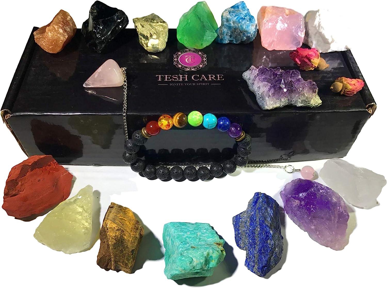 Natural Healing Crystal Chakra Stones for Crystal Therapy