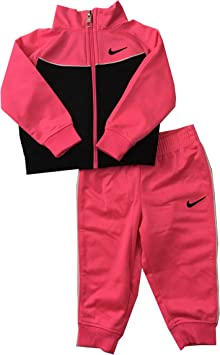 Nike bebé niñas Chándal Hyper Rosa Tamaño 24 Meses: Amazon.es ...