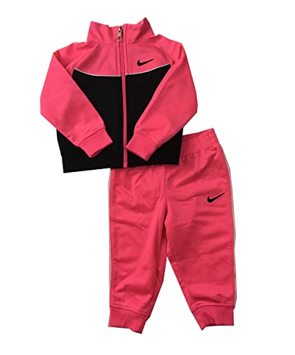 54f3d0ff2 Amazon.com: Nike Infant Girls Tracksuit Hyper Pink Size 24 Months: Sports &  Outdoors