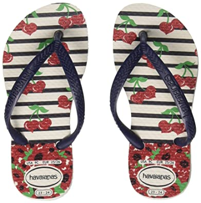 818056b6d Havaianas Girls  Kids Slim Fashion Flip Flops  Amazon.co.uk  Shoes ...