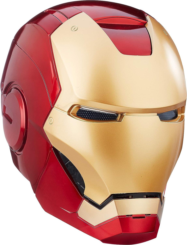 The Avengers Hasbro Collectibles - Casco electrónico de Iron Man de los Vengadores Legends Gear (Marvel)