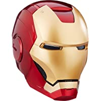 Marvel Legends Iron Man Electronic Helmet, Gold/Red