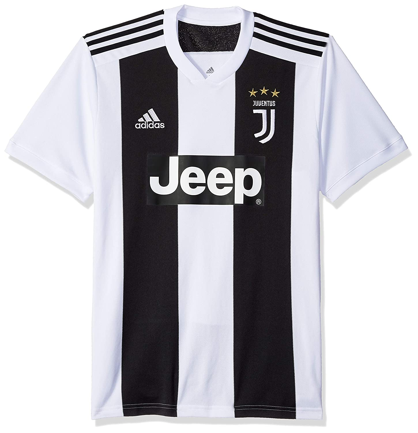 393150e152b Amazon.com   adidas Soccer Juventus FC Home Jersey   Sports   Outdoors