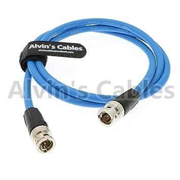 Alvins Cables 12G HD SDI Cable coaxial de vídeo neutrik BNC Macho a Macho para cámara