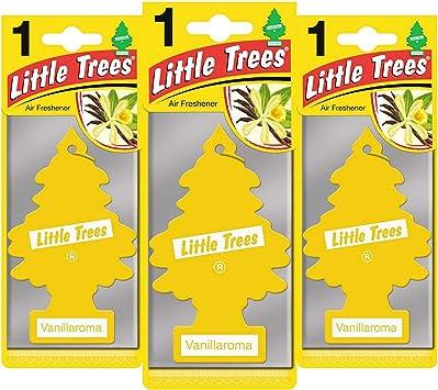 Little Trees Tree Air Freshener Set Of 3 Auto