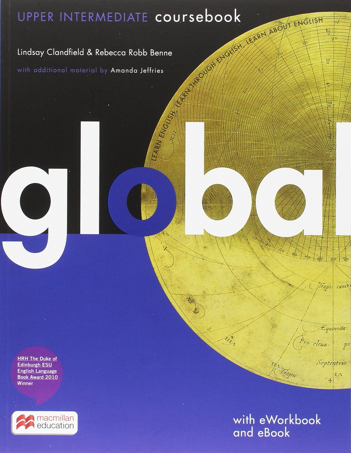 Global: Upper Intermediate / Student's Book with ebook and e-Workbook (DVD-ROM)
