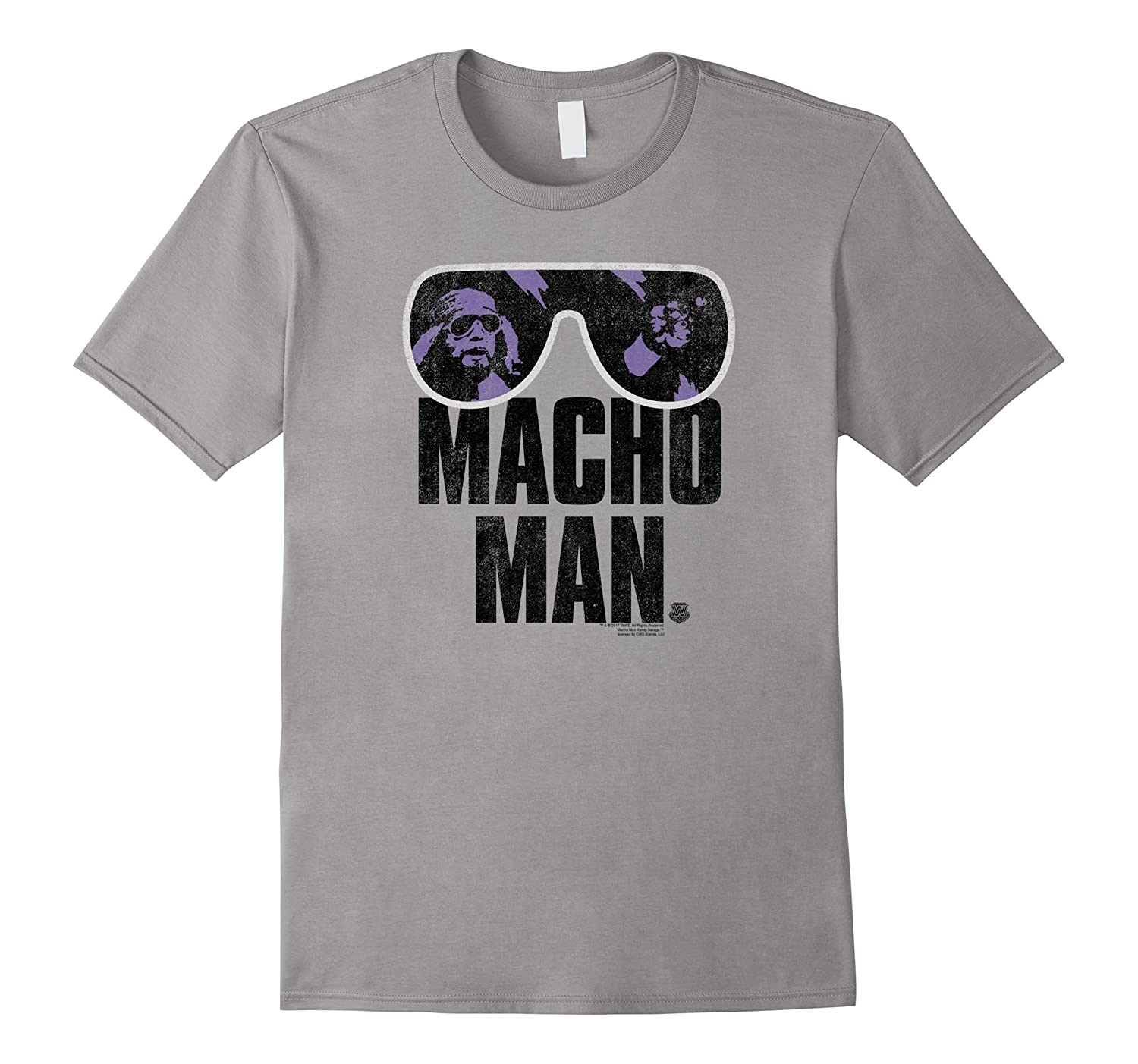 WWE Macho Man Classic Distressed Sunglasses-FL