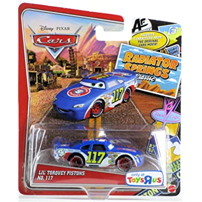 Disney/Pixar Cars Exclusive Radiator Springs Classic Lil' Torquey Pistons No. 117 1:55 Scale: Toys & Games