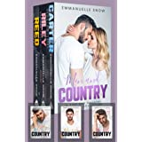 Men and Country: Small Town Alpha Billionaire Romance - Books 1-3 (Pink and Country)