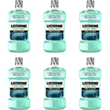 Listerine Zero Alcohol Mouthwash, Alcohol-Free Oral Rinse Formula to Kill 99% of Germs that Cause Bad Breath for Fresh…