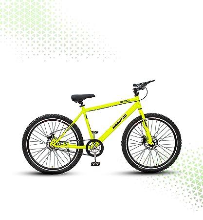 Geekay Hashtag Steel 26 Inch Single Speed Mountain Bike 18