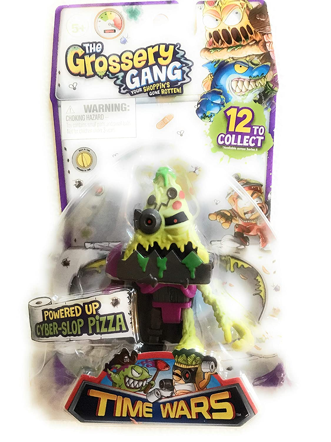 Cyper-Slop Pizza Time Wars The Grossery Gang