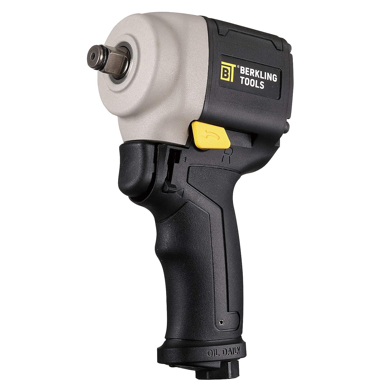 Berkling Tools 2443J Mini Compact 1 2 Air Impact Wrench – Pneumatic, Light Weight, Jumbo Hammer, Composite Handle