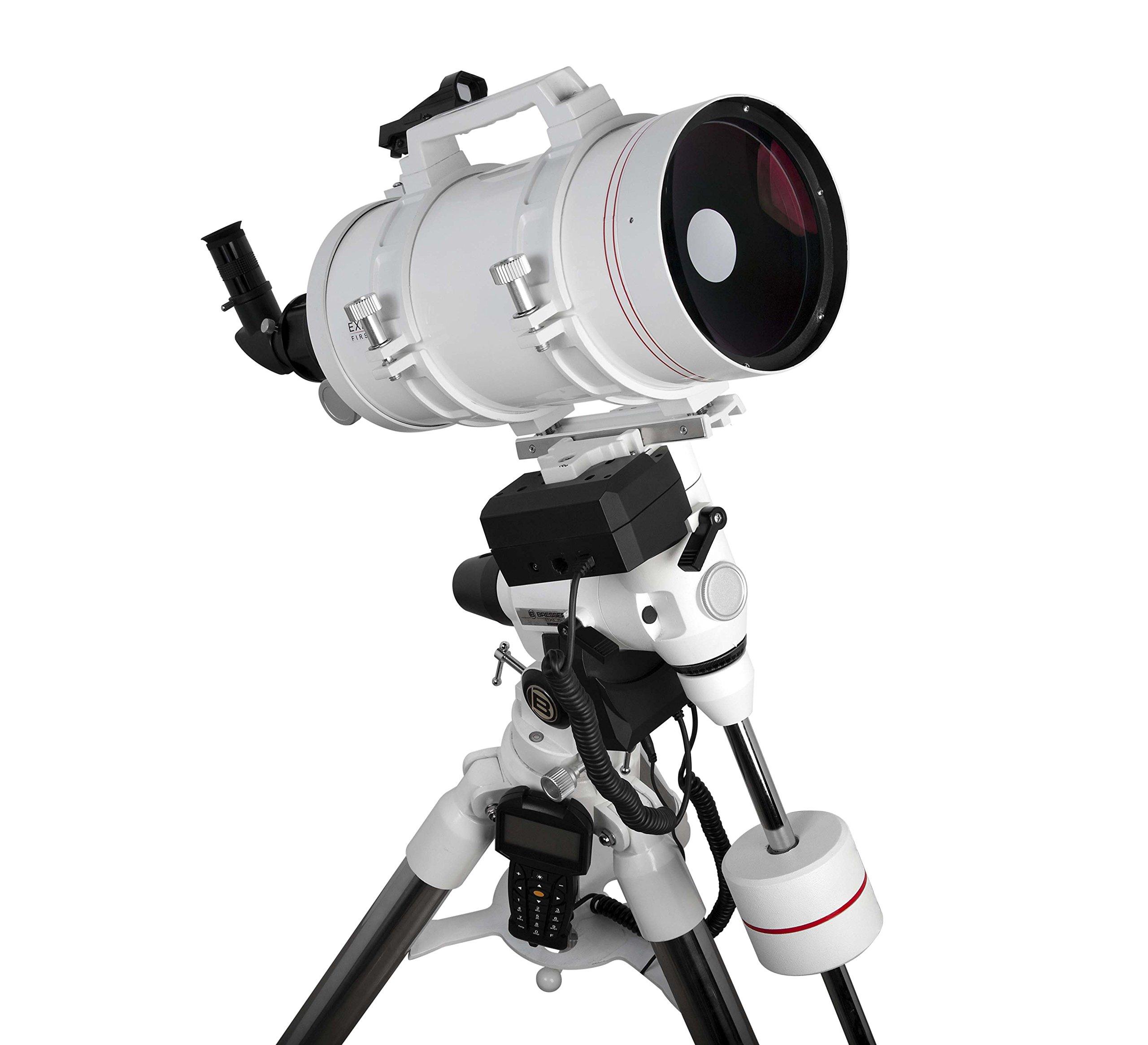 Explore Scientific FL-MC1521900EXOS2GT First Light Tube sutov-Cassegrain Telescope with Exos-2 Mount with Goto, 152mm, White by Explore Scientific