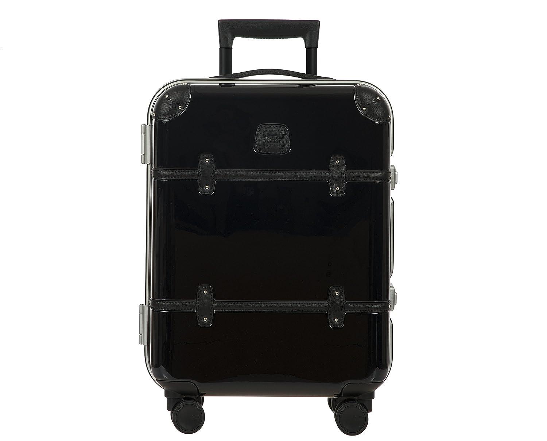 Bellagio METALLO 2.0International 53,3cm Carry On Spinner Trunk, Schwarz glänzend (schwarz) - BBG28501.901