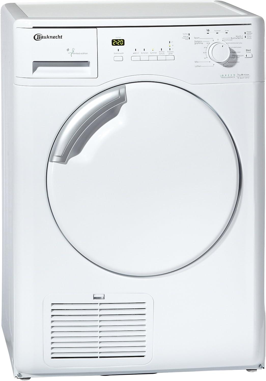 Bauknecht TK SPORT 2012 - Secadora (Integrado, Frente, Color blanco, 7 kg, 155 min, 71 Db)