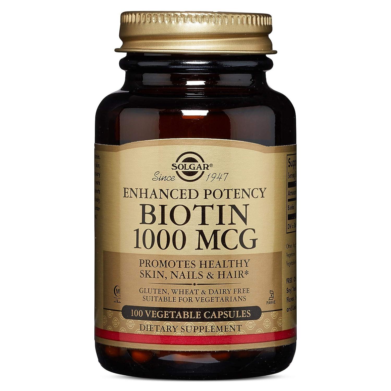 Solgar - Biotin 1000 mcg, 100 Vegetable Capsules