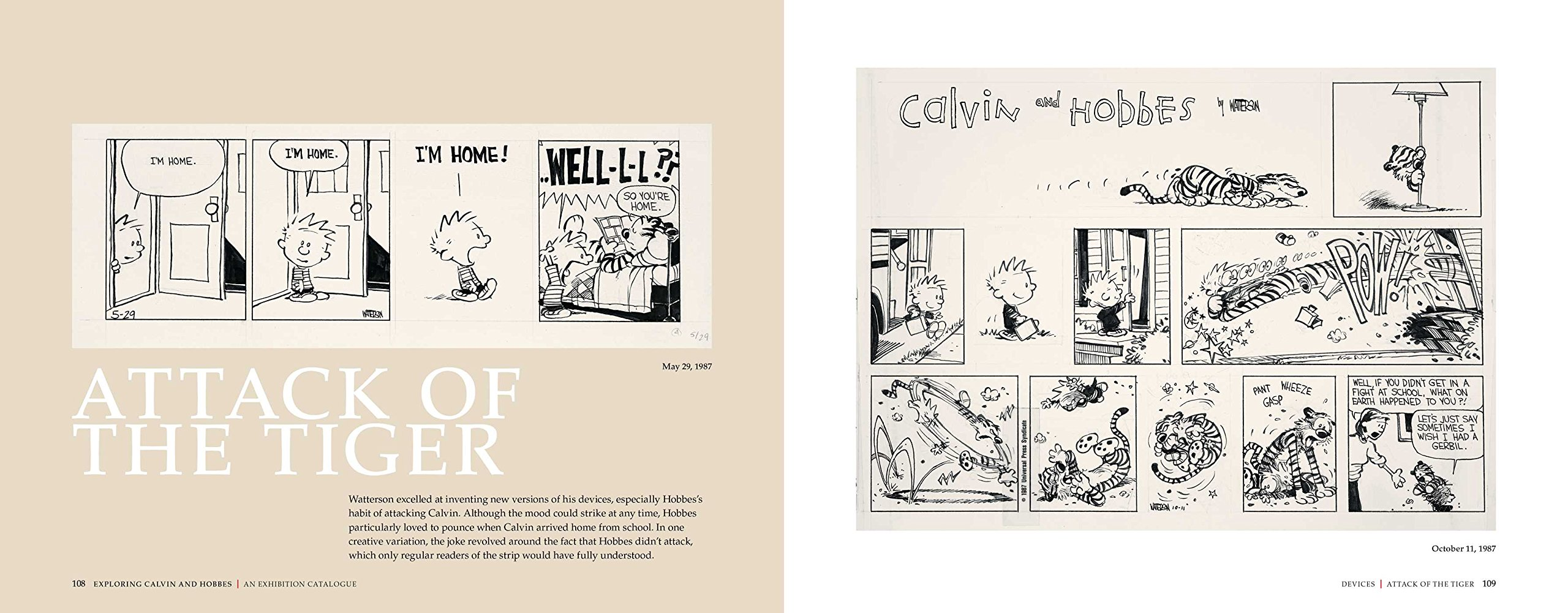 exploring calvin and hobbes an exhibition catalogue bill