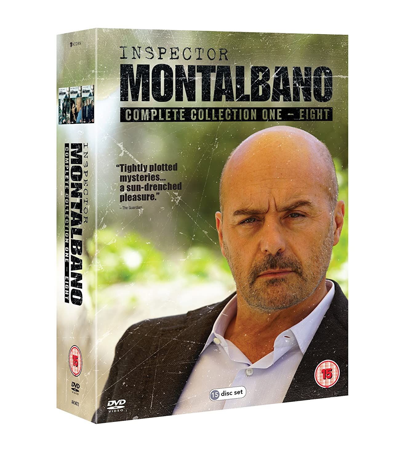 Inspector Montalbano: Collection 1-8 Box Set