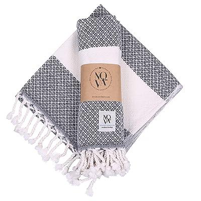 Buy Nova Turkish Hand Towels Set Of 2 Turkish Towels For Bathroom Gym Kitchen Spa Extra Soft Cotton Bathroom Towels 16 X 40 Inch Decorative Peshtemal Tassel Bath Towels Navy Online In Italy B08kwmn9jv