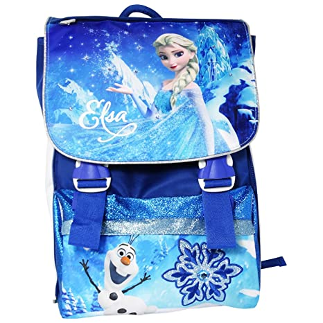 Disney Frozen Elsa Mochila Expandible Bolso Escolar con Regalo