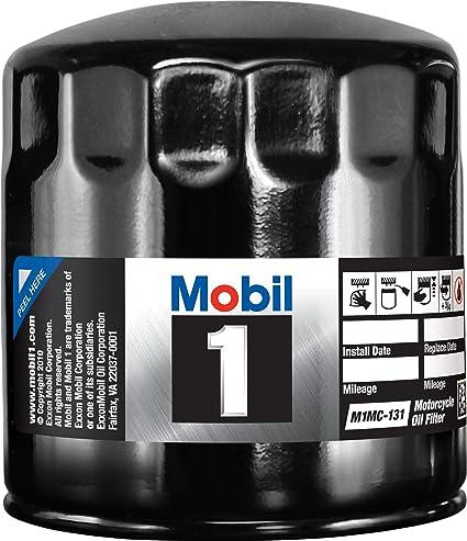 .com: mobil 1 m1mc-131 motorcycle oil filter: automotive